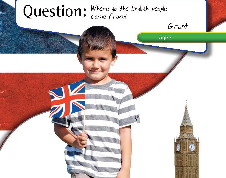 Where Do The English Come From?